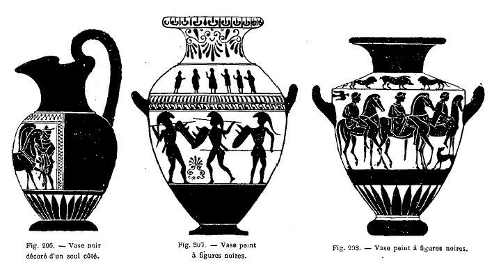 La vie priv e des anciens ren m nart - Dessiner un vase ...