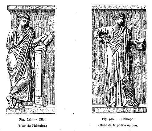 divinités grecques et latines